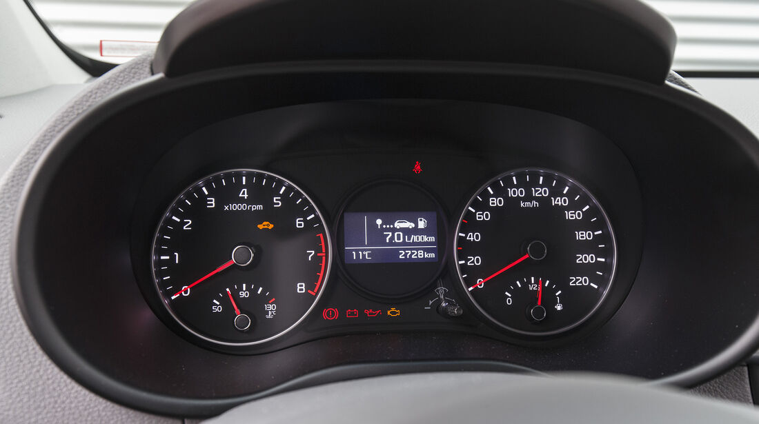 Kia Picanto 1.0 T-GDI, Interieur