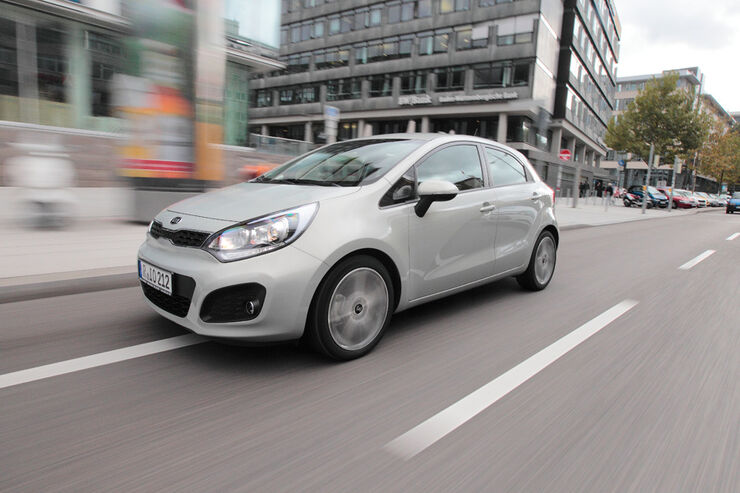 kia rio im test polo konkurrent mit ppiger ausstattung. Black Bedroom Furniture Sets. Home Design Ideas