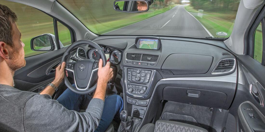 Kia Sportage 1.7 CRDi, Cockpit