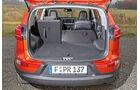 Kia Sportage 1.7 CRDi, Kofferraum, Ladefläche