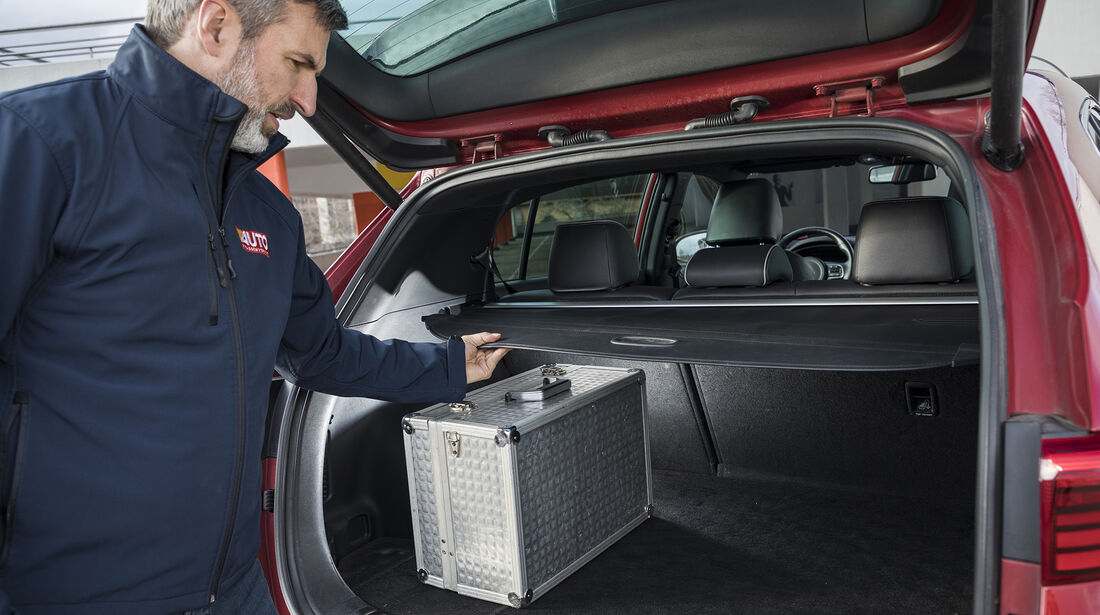 Kia Sportage 2.0 CRDi AWD, Kofferraum