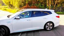 Kia goes electric, Kia Optima SW PHEV, Lesertestdrive