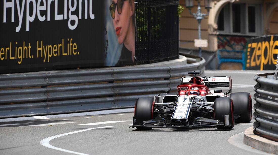 Kimi Räikkönen - Alfa Romeo - Formel 1 - GP Monaco - 25. Mai 2019