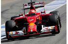 Kimi Räikkönen - Ferrari - Barcelona - F1 Test 2 - 14. Mai 2014