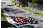 Kimi Räikkönen - Ferrari - Carlos Sainz - Toro Rosso - GP Italien 2015 - Monza