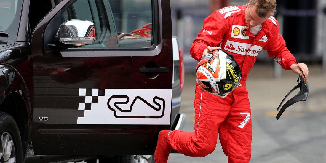 Kimi Räikkönen - Ferrari - F1 Test Barcelona (1) - 13. Mai 2014