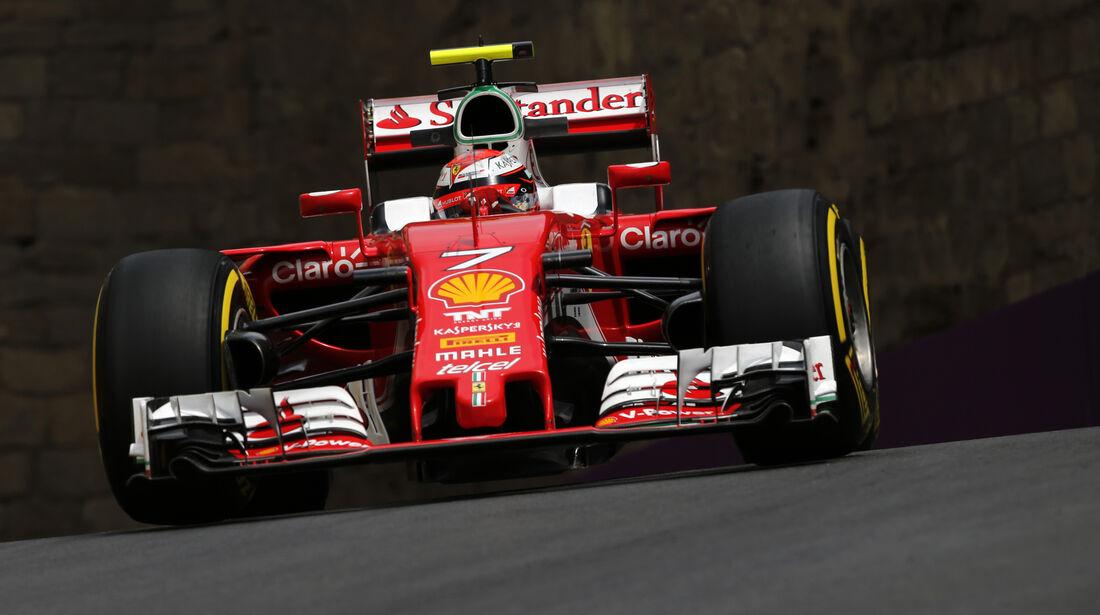 Kimi Räikkönen - Ferrari - Formel 1 - GP Aserbaidschan - Baku - 17. Juni 2016