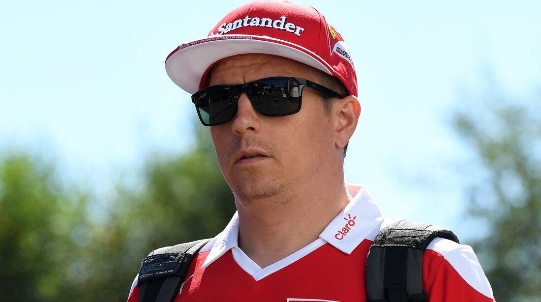 Kimi Räikkönen - Ferrari - Formel 1 - GP Belgien - Spa-Francorchamps - 25. August 2016