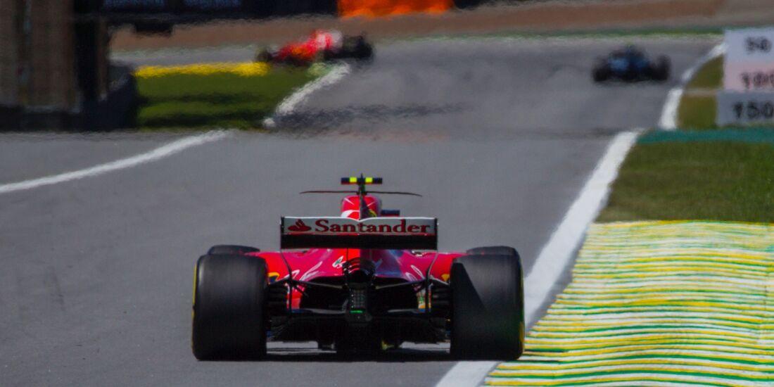 Kimi Räikkönen - Ferrari - Formel 1 - GP Brasilien - 12. November 2017