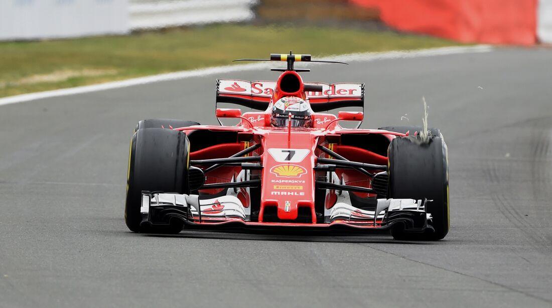 Kimi Räikkönen - Ferrari - Formel 1 - GP England - 16. Juli 2017