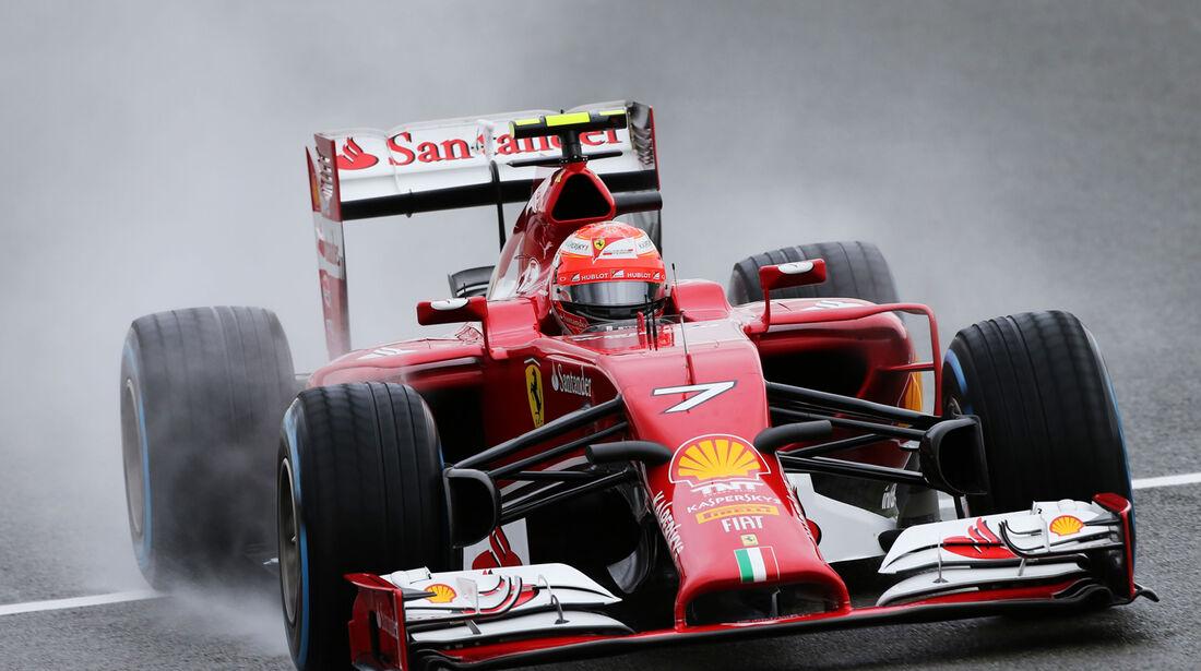 Kimi Räikkönen - Ferrari - Formel 1 - GP England - Silverstone - 5. Juli 2014