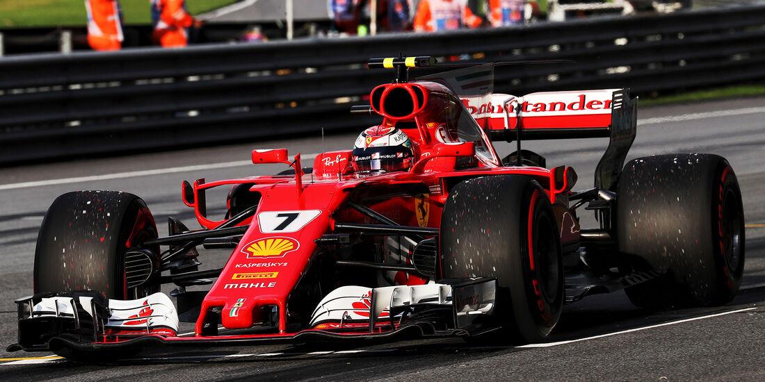 Kimi Räikkönen - Ferrari - Formel 1 - GP Malaysia - Sepang - 30. September 2017