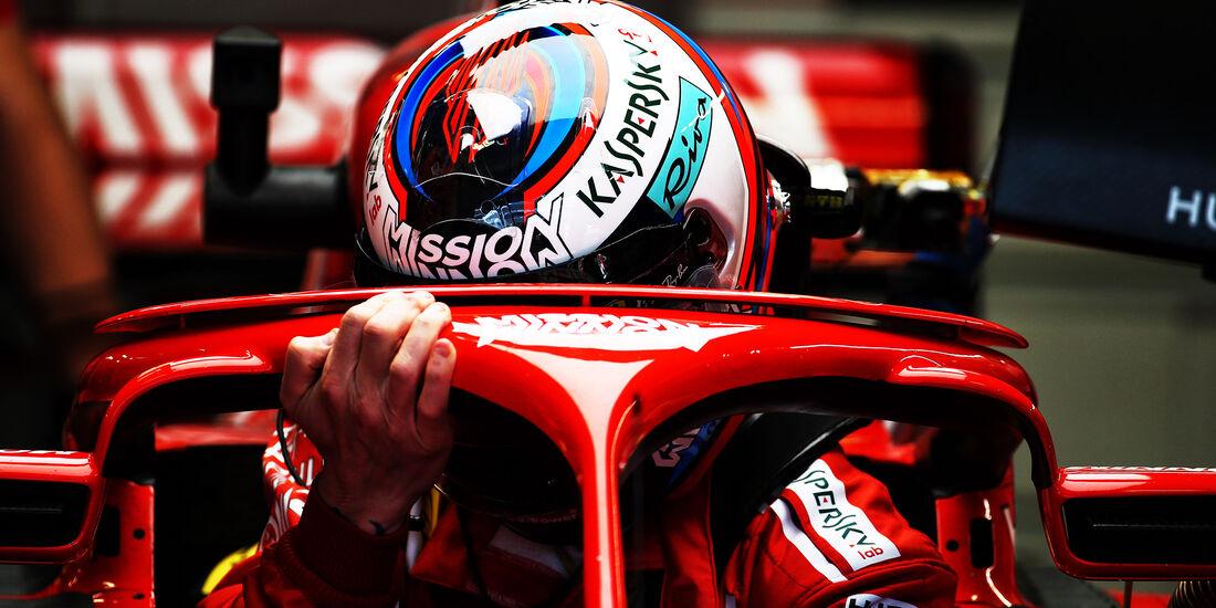 Kimi Räikkönen - Ferrari  - Formel 1 - GP Mexiko - 26. Oktober 2018