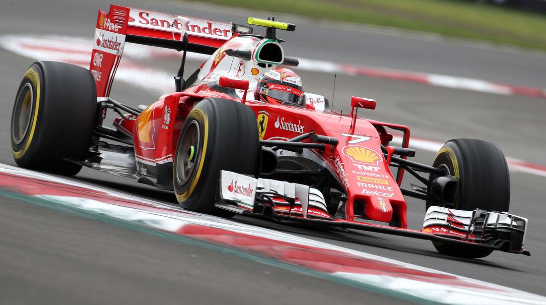 Kimi Räikkönen - Ferrari - Formel 1 - GP Mexiko - 28. Oktober 2016