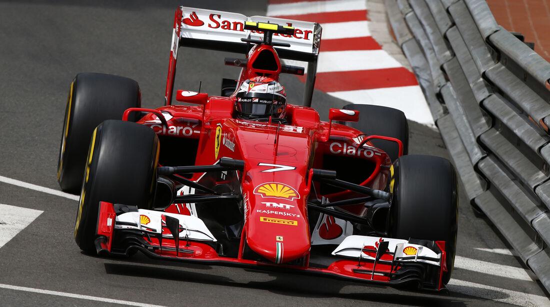 Kimi Räikkönen - Ferrari - Formel 1 - GP Monaco - 21. Mai 2015