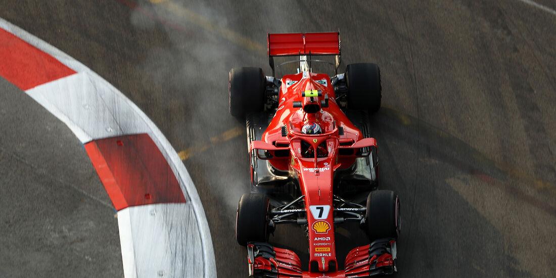 Kimi Räikkönen - Ferrari - Formel 1 - GP Singapur - 14. September 2018