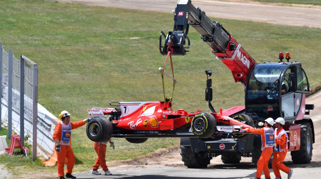 Kimi Räikkönen - Ferrari - Formel 1 - GP Spanien - 14. Mai 2017