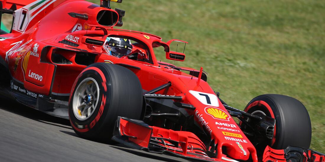 Kimi Räikkönen - Ferrari - Formel 1 - GP Spanien - Barcelona - 11. Mai 2018