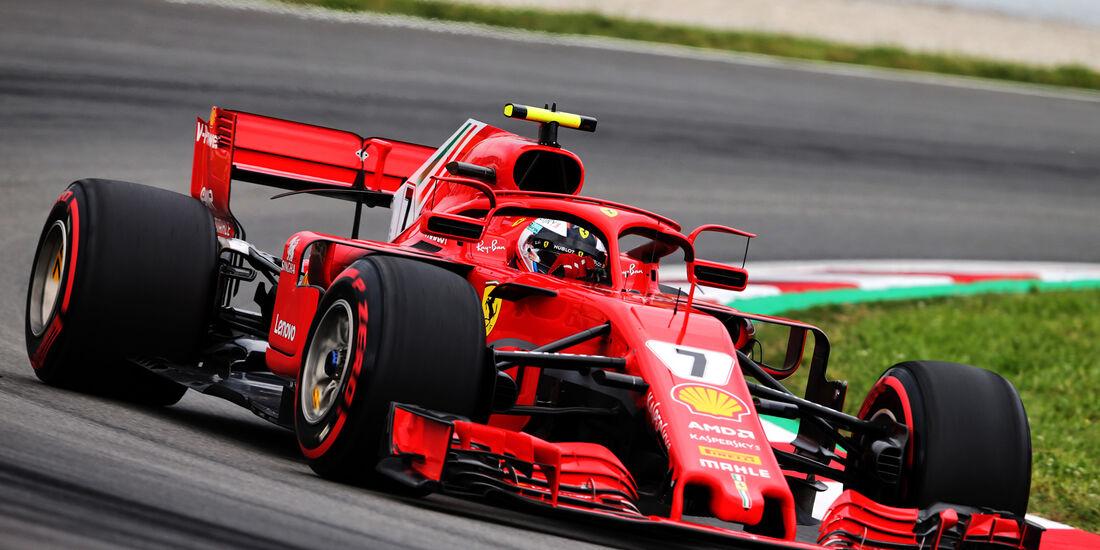 Kimi Räikkönen - Ferrari - Formel 1 - GP Spanien - Barcelona - 12. Mai 2018