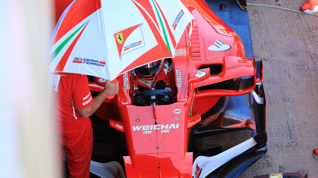 Kimi Räikkönen - Ferrari - Formel 1 - Test - Barcelona - 10. März 2017