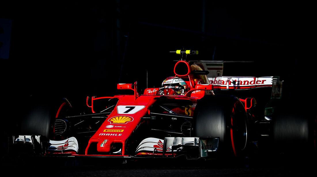 Kimi Räikkönen - Ferrari - GP Aserbaidschan 2017 - Baku - Rennen