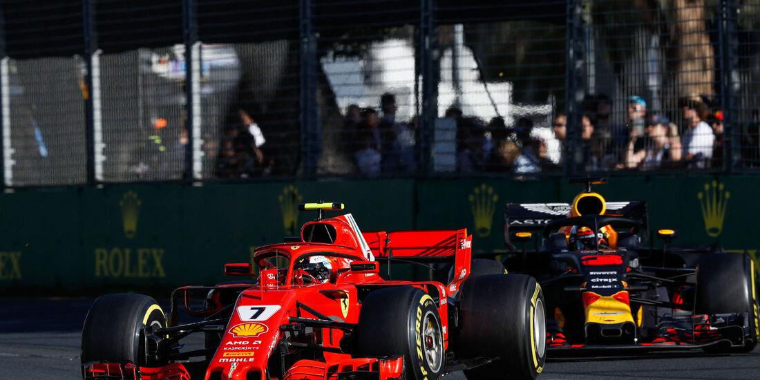 Kimi Räikkönen - Ferrari - GP Australien 2018 - Melbourne - Rennen