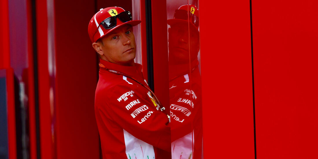 Kimi Räikkönen - Ferrari - GP Belgien - Spa-Francorchamps - 24. August 2018