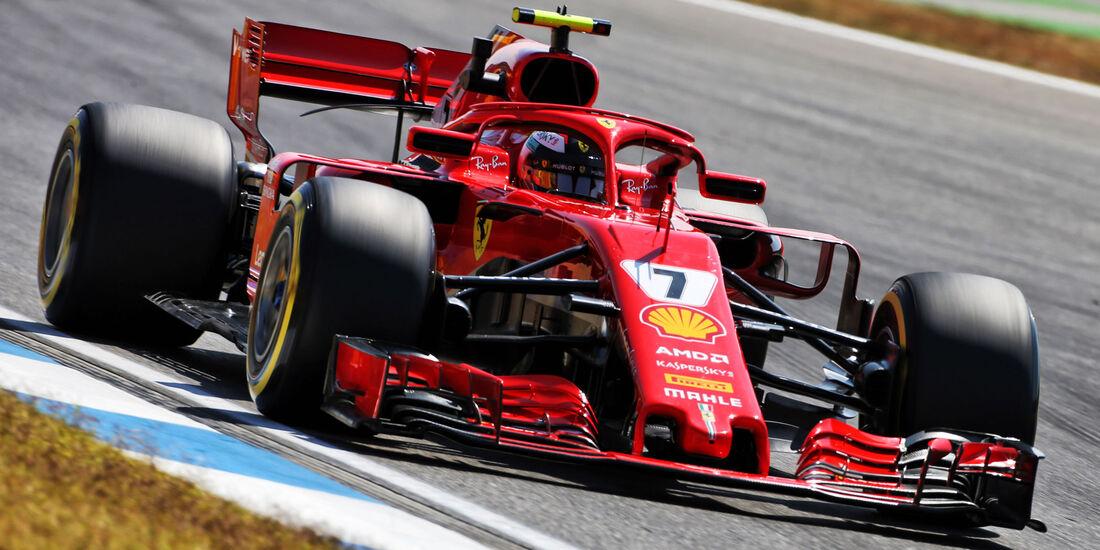 Kimi Räikkönen - Ferrari - GP Deutschland - Hockenheim - Formel 1 - Freitag - 20.7.2018