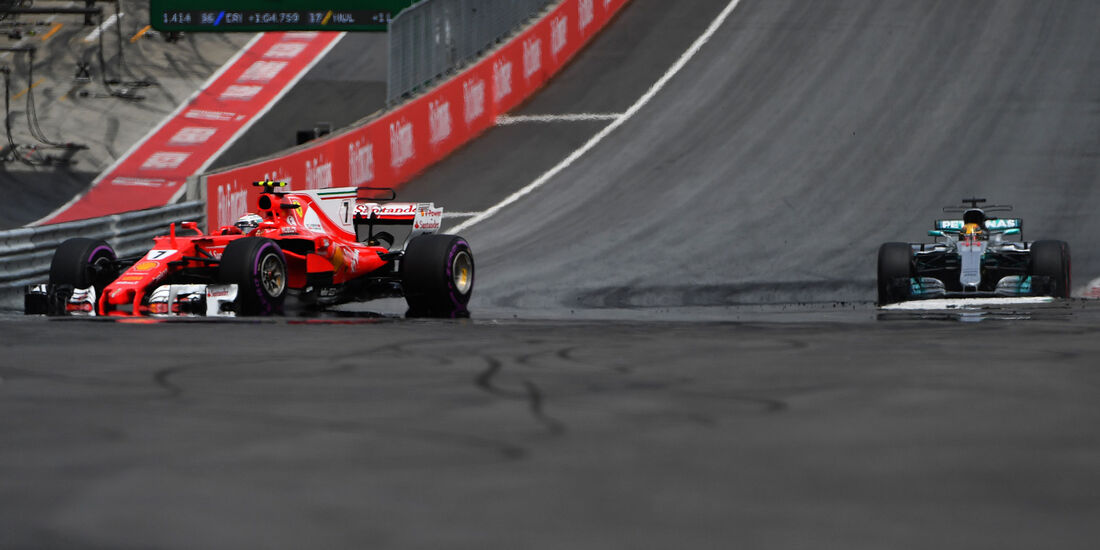 Kimi Räikkönen - Ferrari - GP Österreich 2017 - Spielberg - Rennen