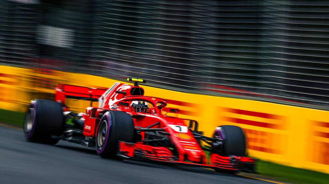 Kimi Räikkönen - Ferrari - Qualifying - GP Australien 2018 - Melbourne