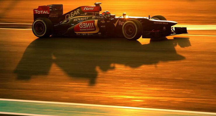 Kimi Räikkönen Formel 1 GP Abu Dhabi 2013