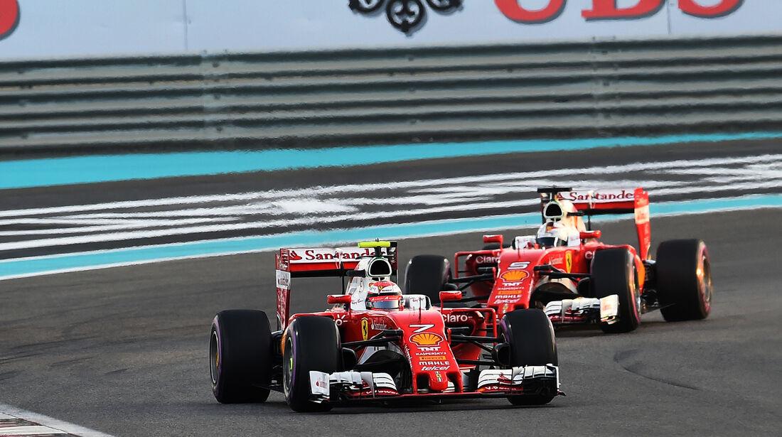 Kimi Räikkönen - Formel 1 - GP Abu Dhabi 2016