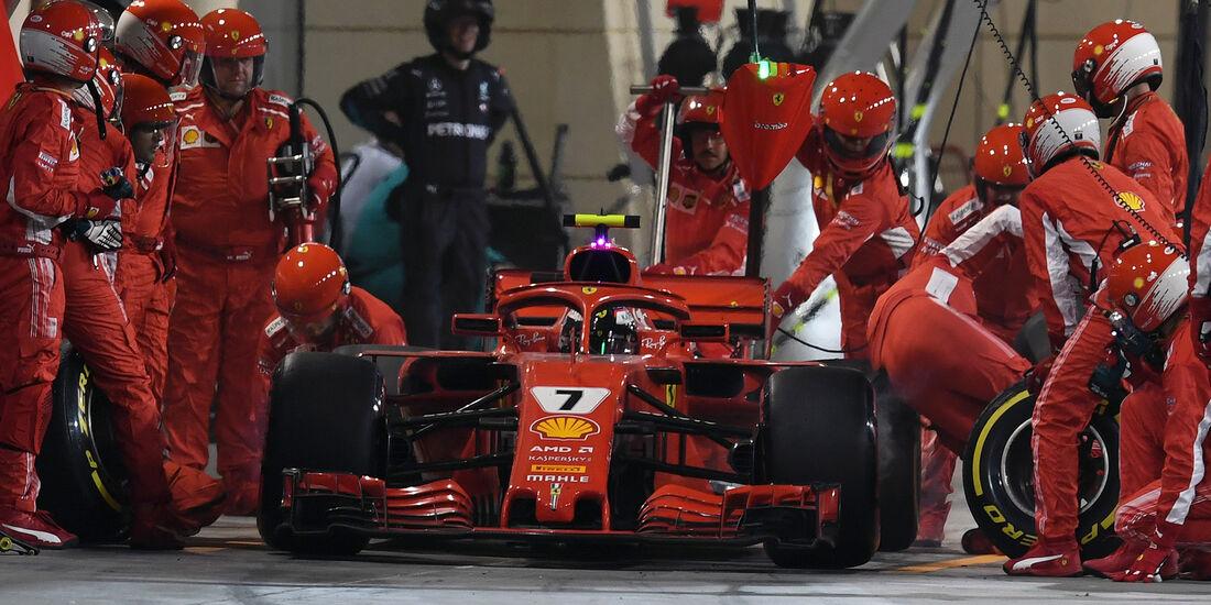 Kimi Räikkönen - Formel 1 - GP Bahrain 2018