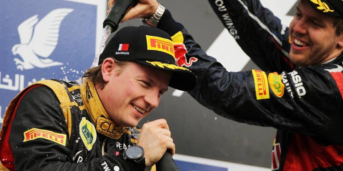 Kimi Räikkönen - Formel 1 - GP Bahrain - 22. April 2012
