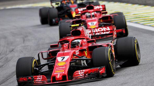Kimi Räikkönen - Formel 1 - GP Brasilien 2018