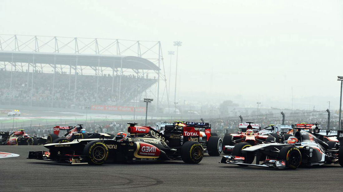 Kimi Räikkönen - Formel 1 - GP Indien - 27. Oktober 2013