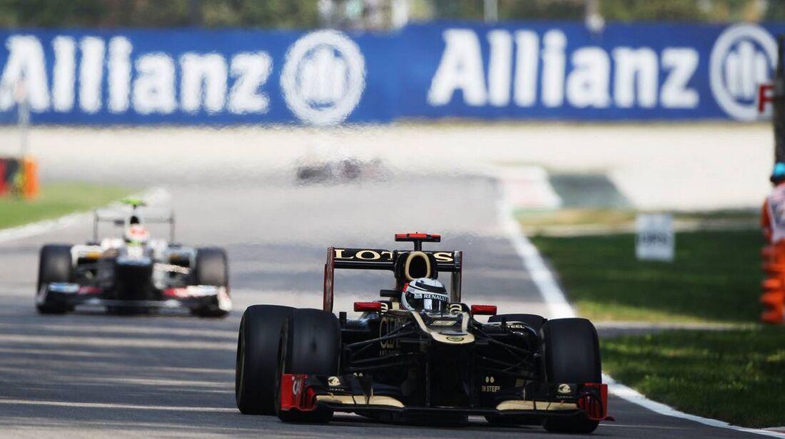 Kimi Räikkönen - Formel 1 - GP Italien - 09. September 2012