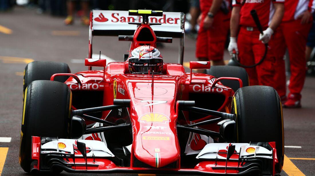 Kimi Räikkönen  - Formel 1 - GP Monaco - Donnerstag - 21. Mai 2015