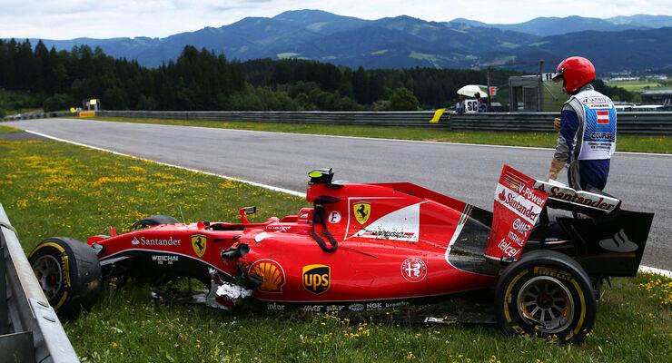 Kimi Räikkönen - Formel 1 - GP Österreich 2015