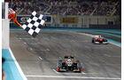Kimi Räikkönen GP Abu Dhabi 2012
