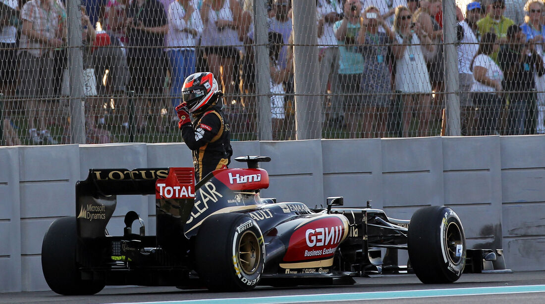 Kimi Räikkönen - GP Abu Dhabi 2013