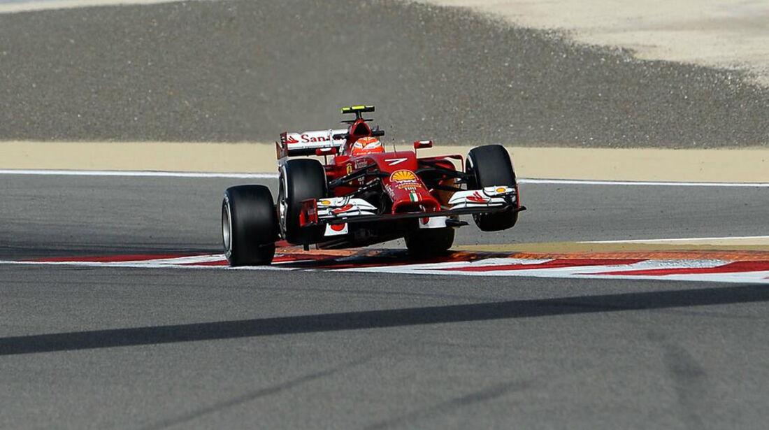 Kimi Räikkönen - GP Bahrain - Formel 1 - 2014