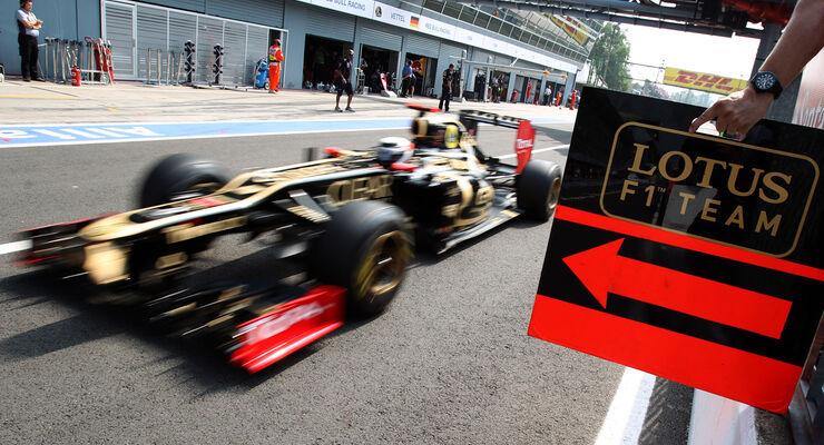 Kimi Räikkönen GP Italien 2012 Monza