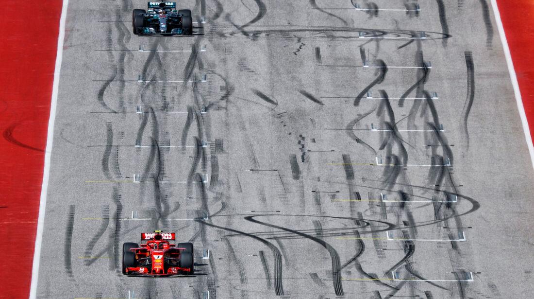 Kimi Räikkönen - Lewis Hamilton - GP USA 2018