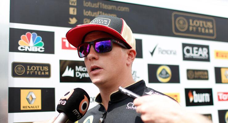 Kimi Räikkönen Lotus 2013