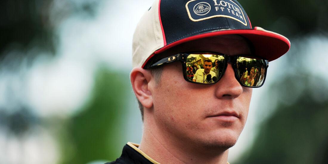 Kimi Räikkönen - Lotus - Formel 1 - GP Singapur - 19. September 2013