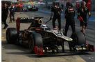 Kimi Räikkönen - Lotus - Formel 1-Test Barcelona - 3. März 2012