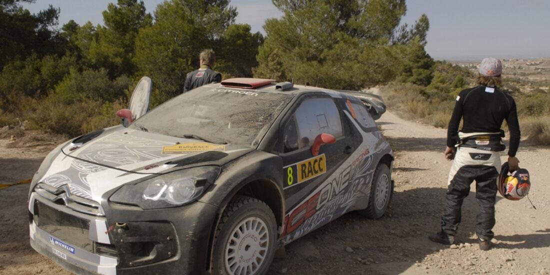 Kimi Räikkönen WRC Rallye Spanien 2011