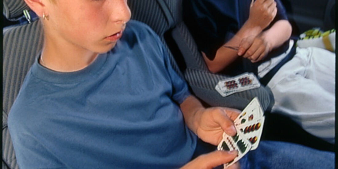 Kinderspiele für die Autofahrt