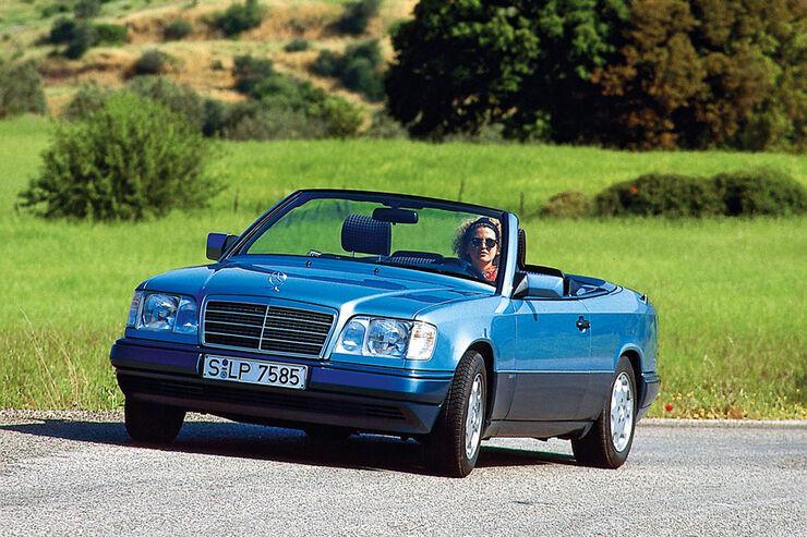 mercedes w 124 25 gr nde f r die erste e klasse auto motor und sport. Black Bedroom Furniture Sets. Home Design Ideas